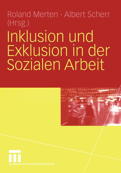 Inklusion und Exklusion in der Sozialen Arbeit - Coverbild