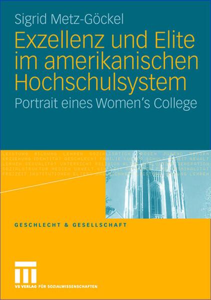 Exzellenz und Elite im amerikanischen Hochschulsystem - Coverbild