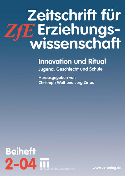 Innovation und Ritual - Coverbild