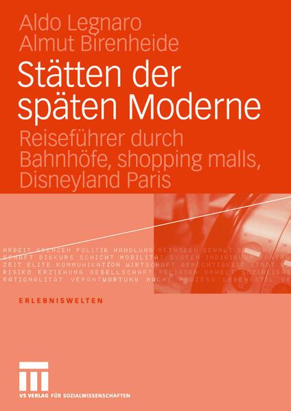 Stätten der späten Moderne - Coverbild
