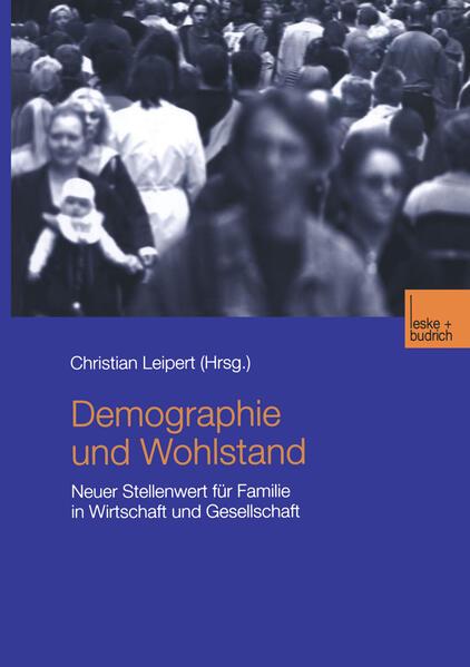 Demographie und Wohlstand - Coverbild