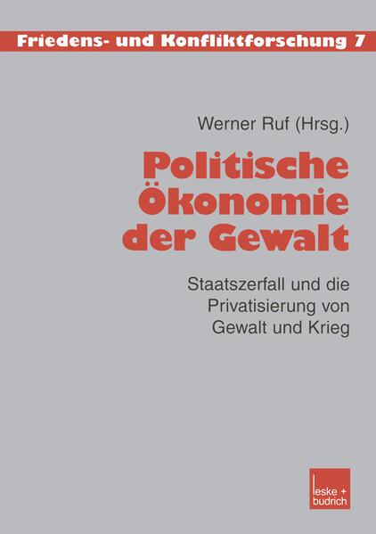 Politische Ökonomie der Gewalt - Coverbild