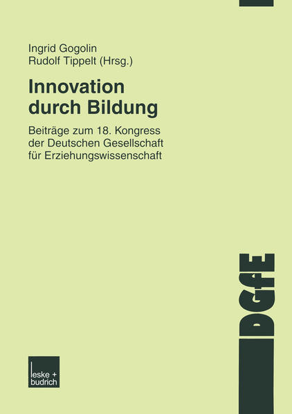 Innovation durch Bildung - Coverbild