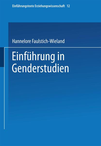 Einführung in Genderstudien - Coverbild