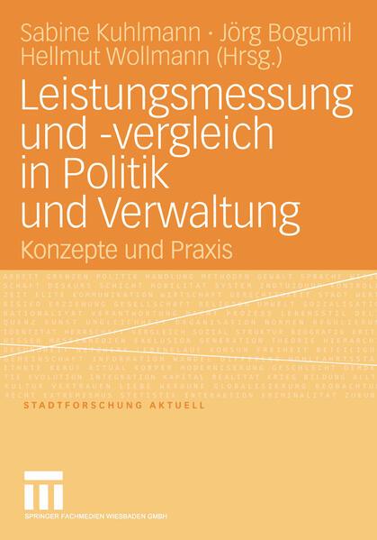 Leistungsmessung und -vergleich in Politik und Verwaltung - Coverbild