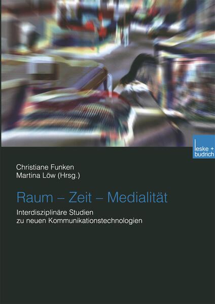 Raum — Zeit — Medialität - Coverbild