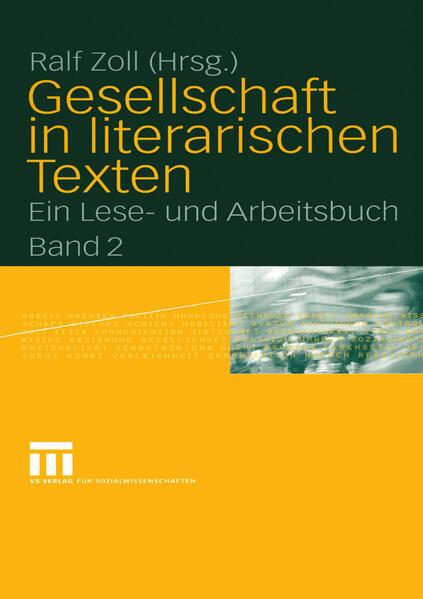 Gesellschaft in literarischen Texten - Coverbild