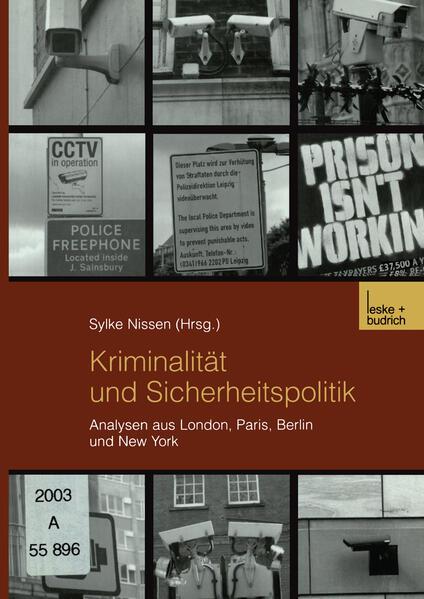 Kriminalität und Sicherheitspolitik - Coverbild