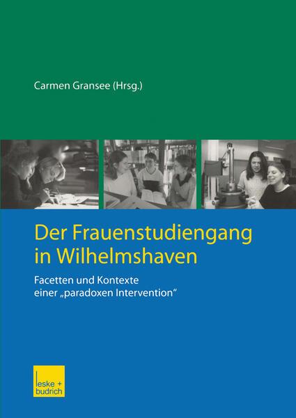 Der Frauenstudiengang in Wilhelmshaven - Coverbild