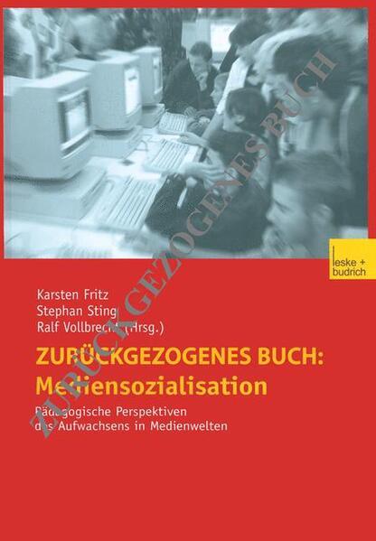 Mediensozialisation - Coverbild
