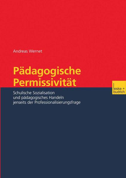 Pädagogische Permissivität - Coverbild