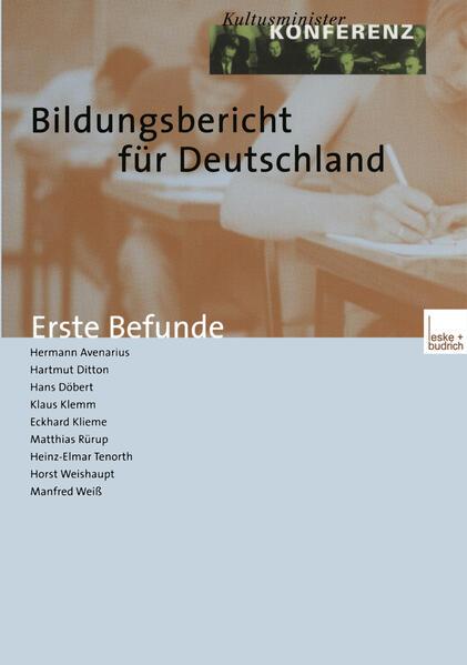 Bildungsbericht für Deutschland - Coverbild