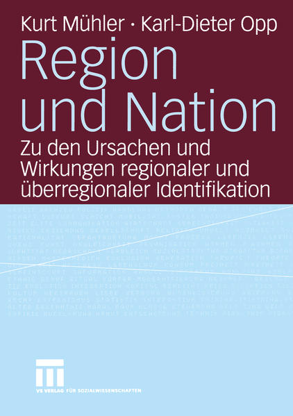 Region und Nation - Coverbild