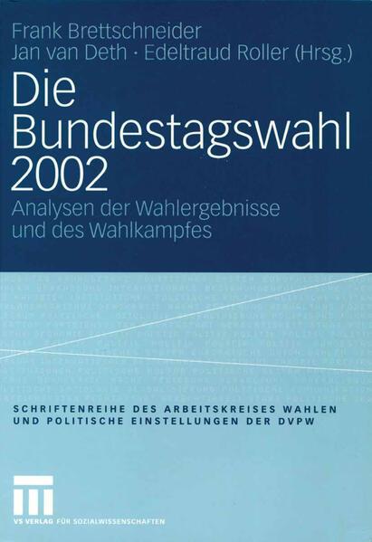Die Bundestagswahl 2002 - Coverbild
