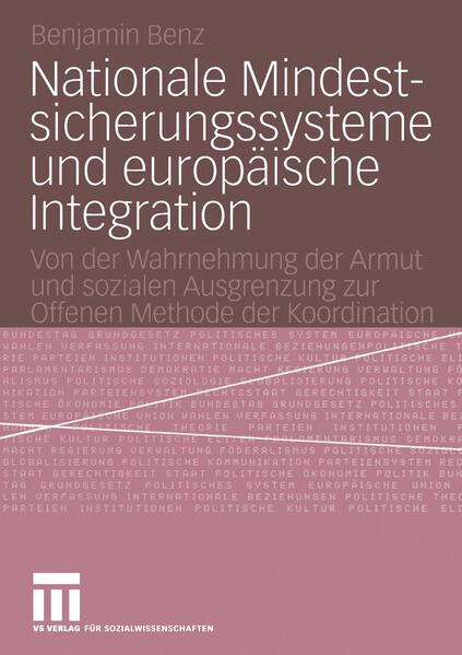 Nationale Mindestsicherungssysteme und europäische Integration - Coverbild
