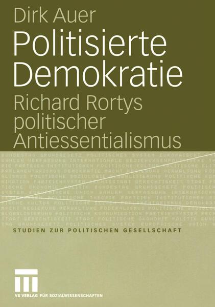 Politisierte Demokratie - Coverbild
