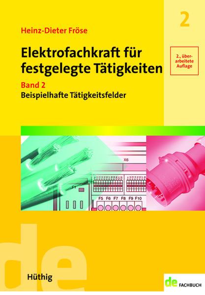 Elektrofachkraft für festgelegte Tätigkeiten - Coverbild