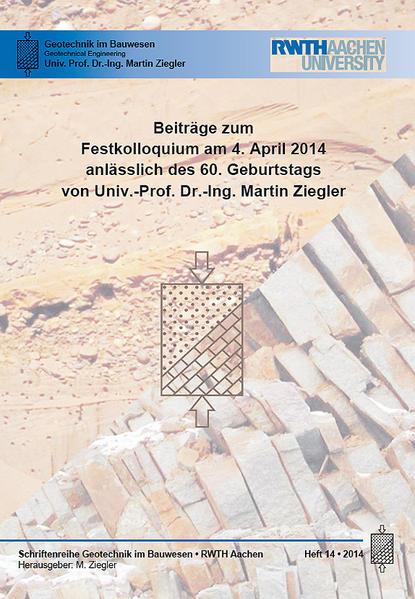 Beiträge zum Festkolloquium am 4.April 2014 anlässlich des 60. Geburtstags von Univ.-Prof. Dr.-Ing. Martin Ziegler - Coverbild