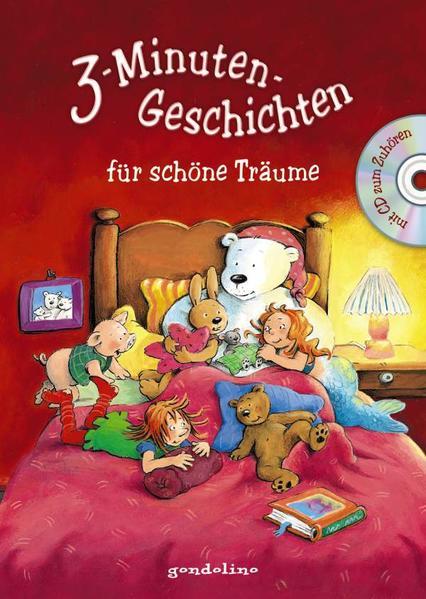Herunterladen 3-Minuten-Geschichten für schöne Träume m. CD Epub