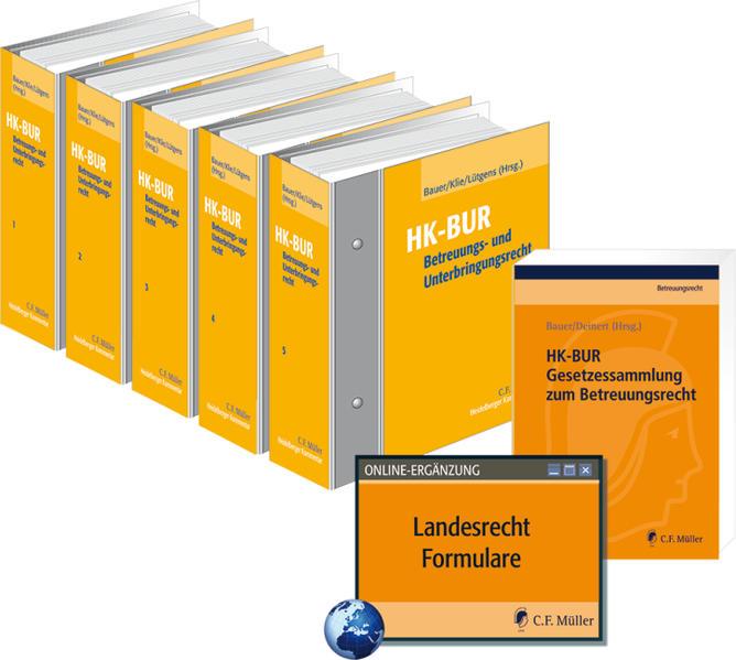 Heidelberger Kommentar zum Betreuungs- und Unterbringungsrecht - Coverbild