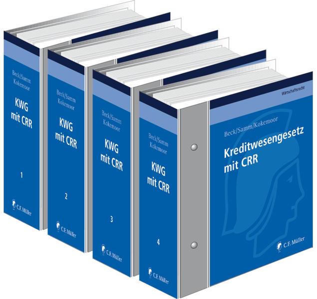 Kreditwesengesetz mit CRR - Coverbild