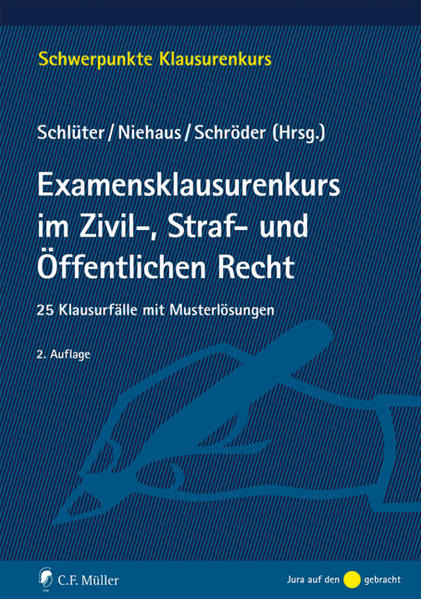 Examensklausurenkurs im Zivil-, Straf- und Öffentlichen Recht - Coverbild