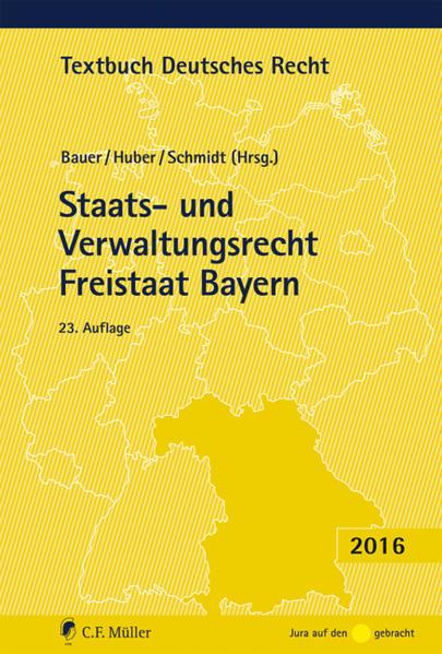 Staats- und Verwaltungsrecht Freistaat Bayern - Coverbild