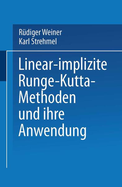 Linear-implizite Runge-Kutta-Methoden und ihre Anwendung - Coverbild