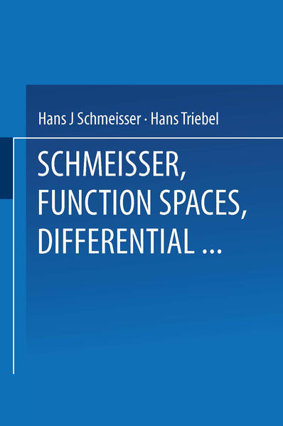 Function Spaces, Differential Operators and Nonlinear Analysis - Coverbild