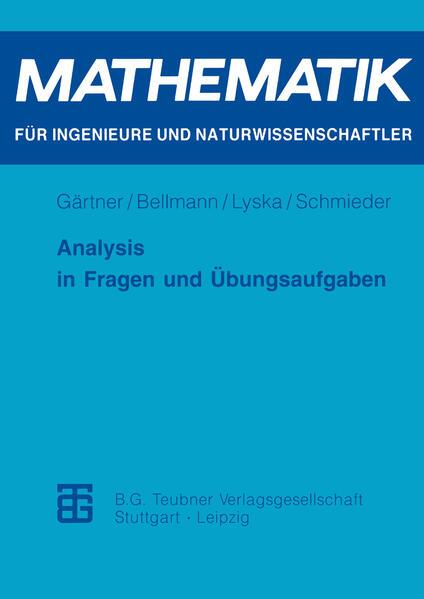 Analysis in Fragen und Übungsaufgaben - Coverbild