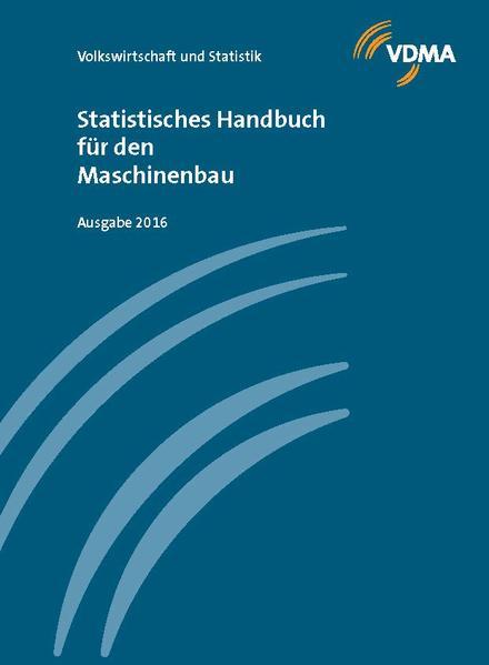 Statistisches Handbuch für den Maschinenbau 2016 - Coverbild