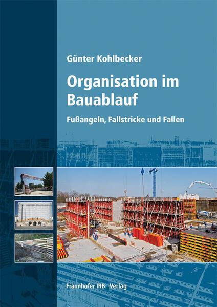 Organisation im Bauablauf. - Coverbild