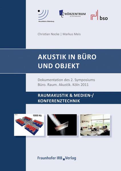 Akustik in Büro und Objekt. - Coverbild