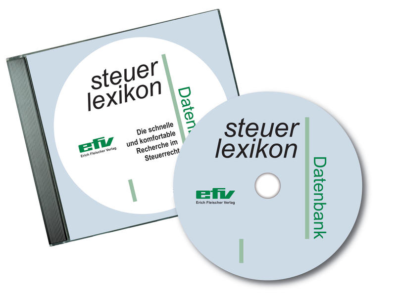 steuer-lexikon Datenbank - Coverbild