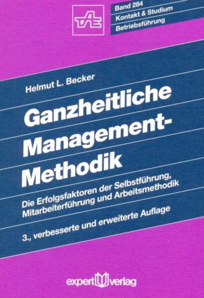 Ganzheitliche Management-Methodik - Coverbild