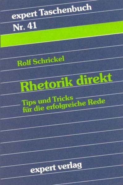 Rhetorik direkt - Coverbild