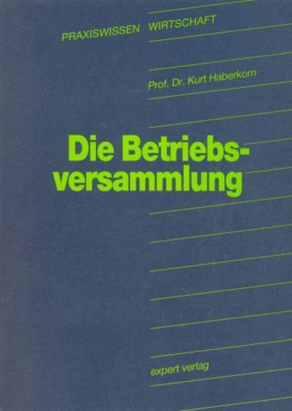 Die Betriebsversammlung - Coverbild