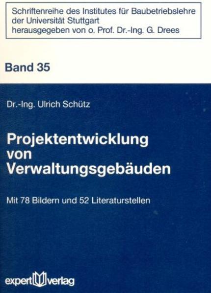 Projektentwicklung von Verwaltungsgebäuden - Coverbild