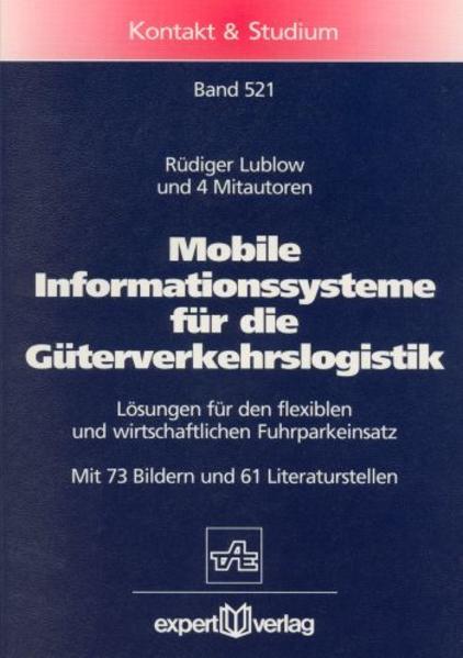 Mobile Informationssysteme für die Güterverkehrslogistik - Coverbild