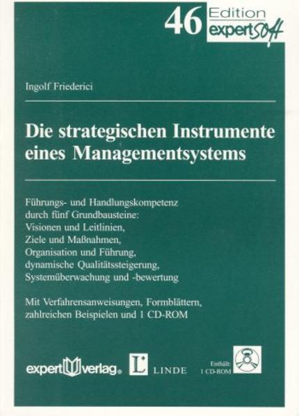 Die strategischen Instrumente eines Managementsystems - Coverbild