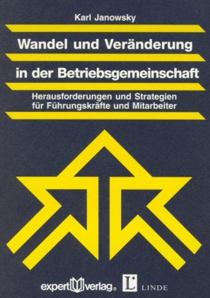Wandel und Veränderung in der Betriebsgemeinschaft - Coverbild