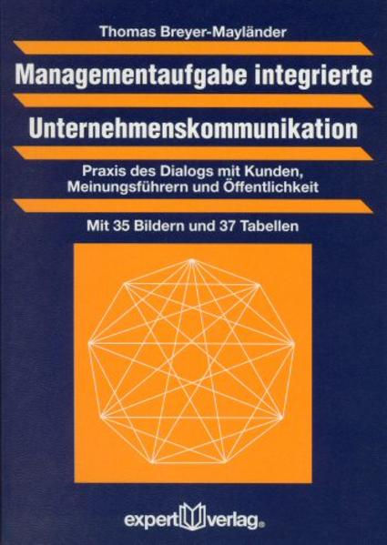 Managementaufgabe integrierte Unternehmenskommunikation - Coverbild