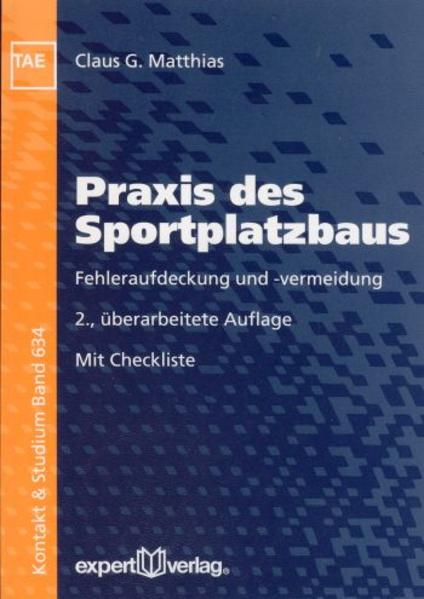 Praxis des Sportplatzbaus - Coverbild