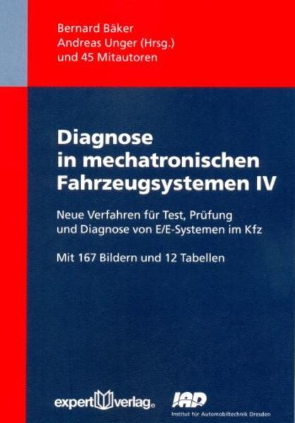 Diagnose in mechatronischen Fahrzeugsystemen, IV: - Coverbild