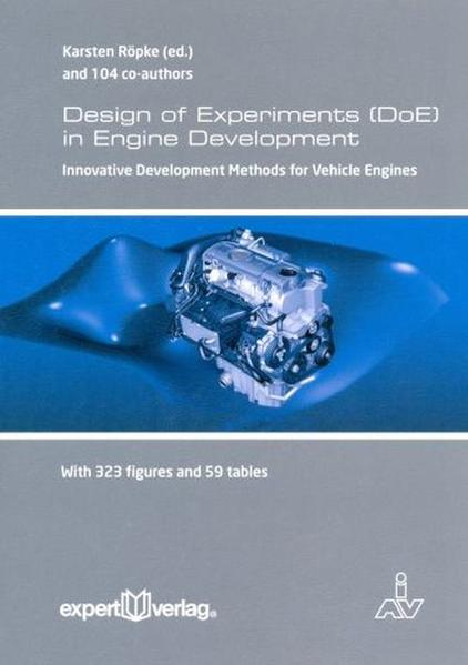 Design of Experiments (DoE) in Engine Development, V: - Coverbild
