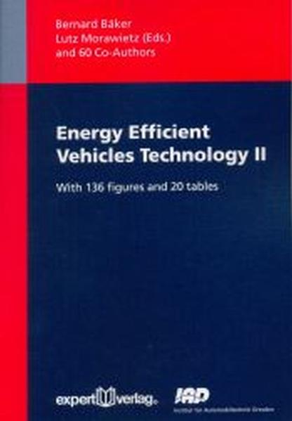Energy Efficient Vehicles Technology, II - Coverbild