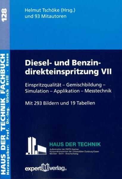 Diesel- und Benzindirekteinspritzung, VII: - Coverbild