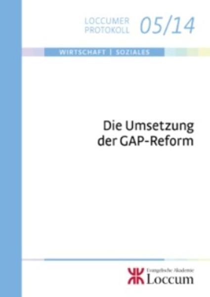 Die Umsetzung der GAP-Reform: PDF Herunterladen