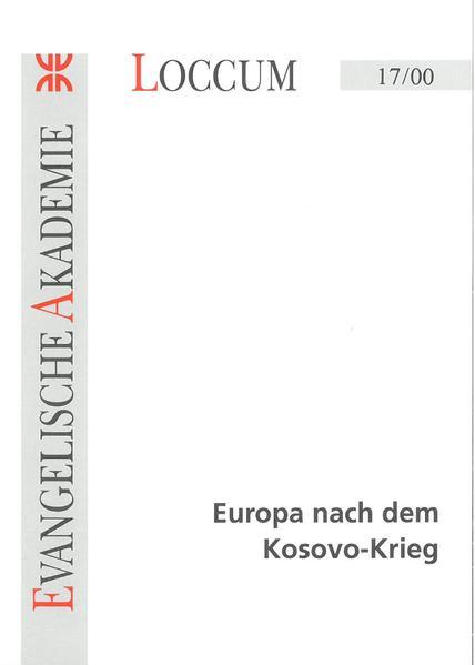 Europa nach dem Kosovo-Krieg - Coverbild