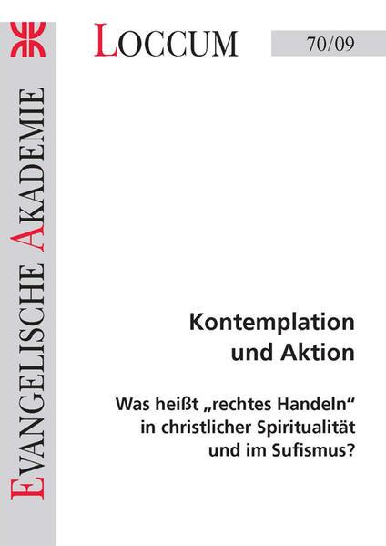 Kontemplation und Aktion - Coverbild
